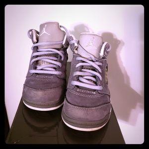 Jordan retro 5 (wolf grey)